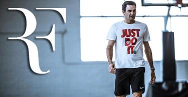 """Roger Federer will get the """"RF"""" logo soon"""