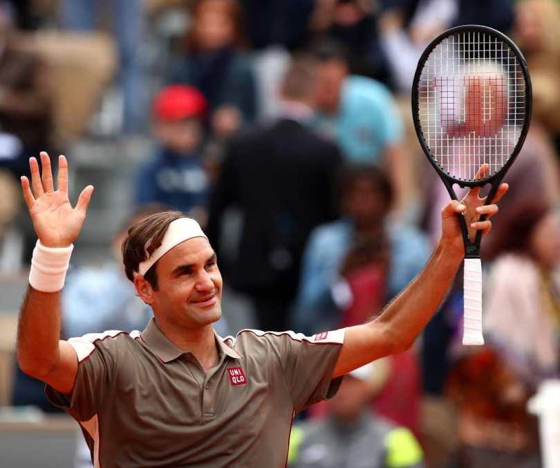 Roger Federer Vs Sonego RG 2019 - Highlights