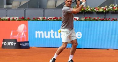 Roger Federer Draw in Madrid 2019