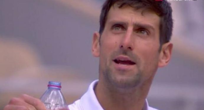 This is what Novak Djokovic told the umpire after losing the 3rd Set