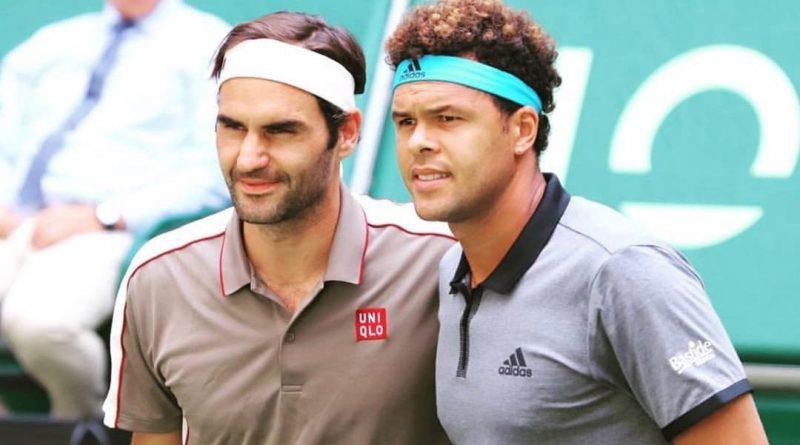 Roger Federer Press Conference after Tsonga match