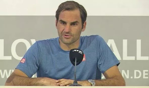 Roger Federer Press Conference after Millman match