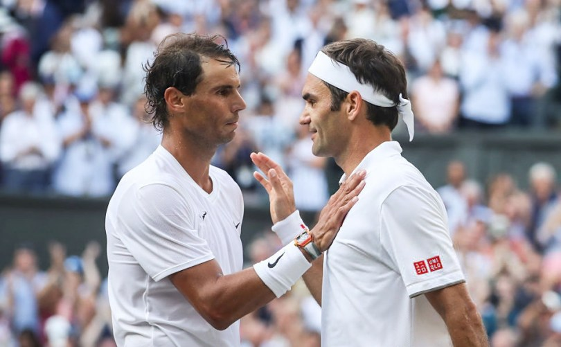Rafael Nadal Congratulated and praised Federer for the win