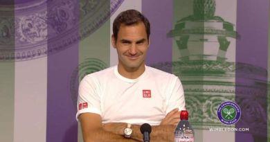 Roger Federer Press Conference After Nadal match