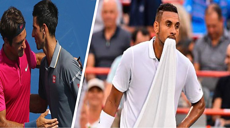 Federer and Djokovic refuse to give verdict on Kyrgios