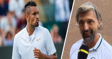 Goran Ivanisevic coach responds to Nick Kyrgios