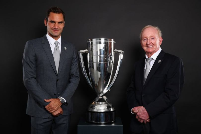 "Rod Laver ""Federer is the GOAT whatever happen"""