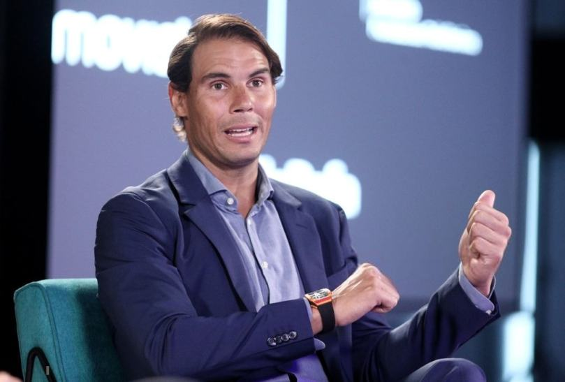 Rafael Nadal gives an update about the hand injury