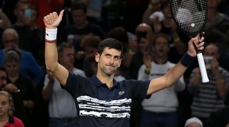 Novak Djokovic gives an update about his shoulder in Paris Bercy 2019