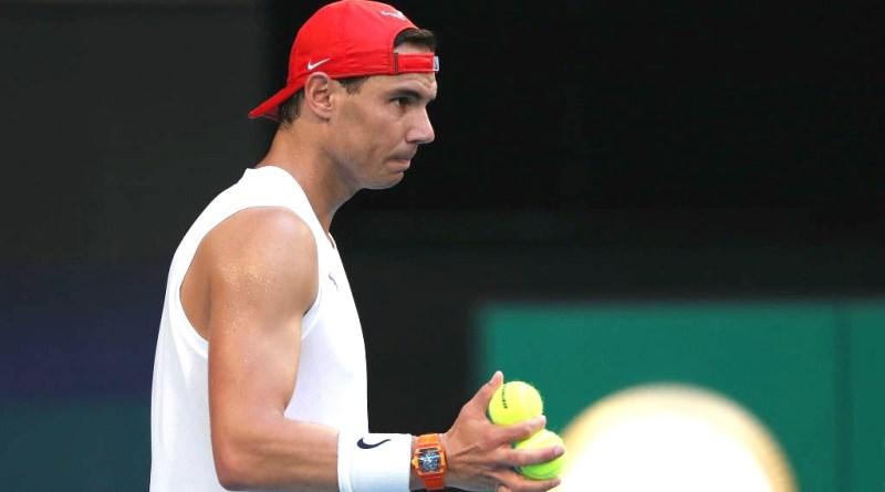 Rafael Nadal Australian Open 2020 Outfit Tennis Shot