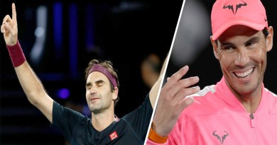 Rafael Nadal stayed awake and reacted to Federer emotional win