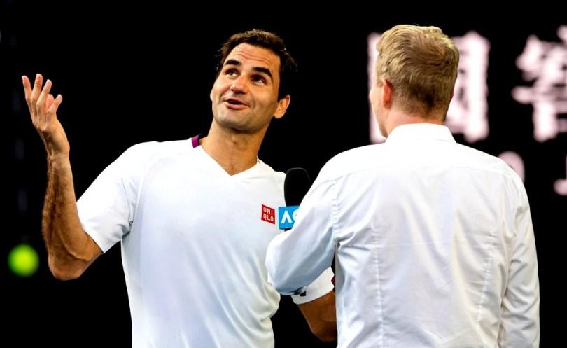 Roger Federer - Full Press conference after Sandgren win