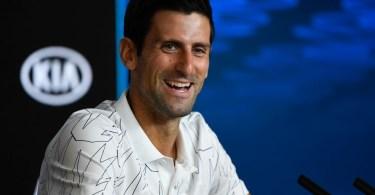 Novak Djokovic press conference after 1R win