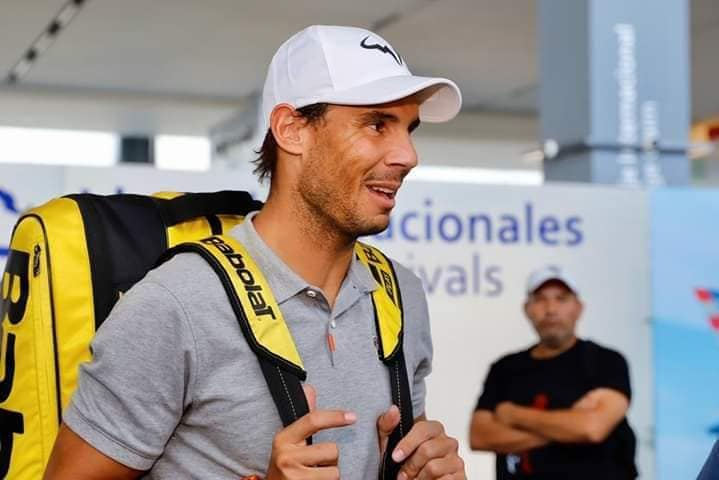 Rafael Nadal arrives at Acapulco - Pictures
