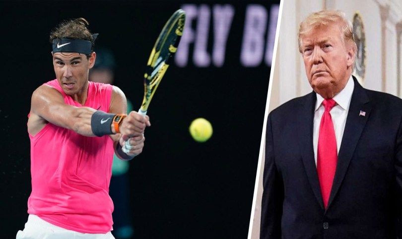 Donald Trump invites Rafa Nadal to the white house but there is a problem