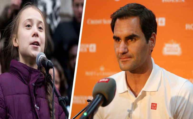 Roger Federer responds to the critics of Thunberg about Credit Suisse