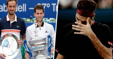 Thiem and Medvedev reveal their feelings about Roger Federer surgery