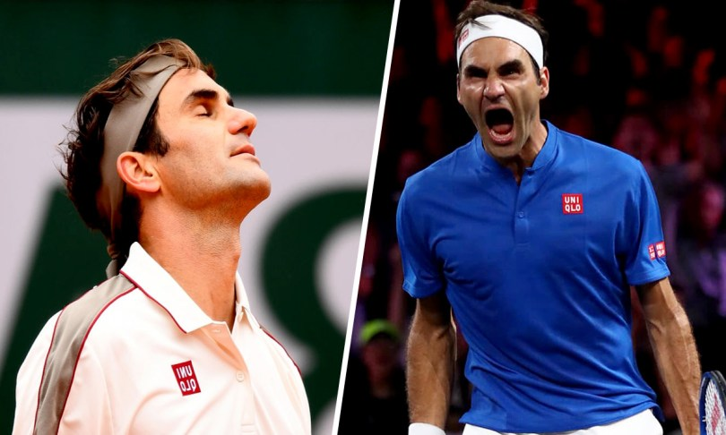 Roger Federer is stuck between Laver Cup and Roland Garros 2020