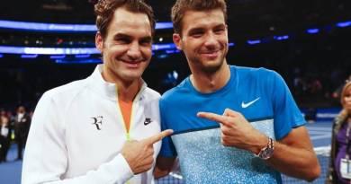 Roger Federer trolled Dimitrov after Covid-10 social media post