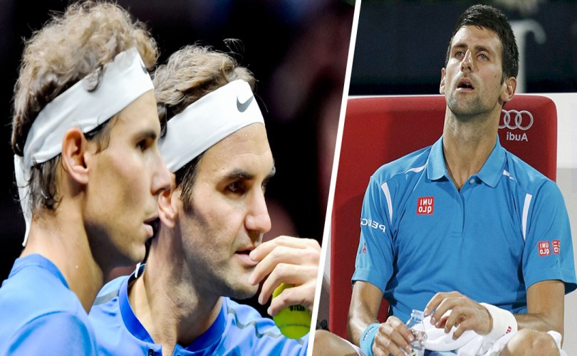 """Federer and Nadal should hold Djokovic to account"" says Annacone"