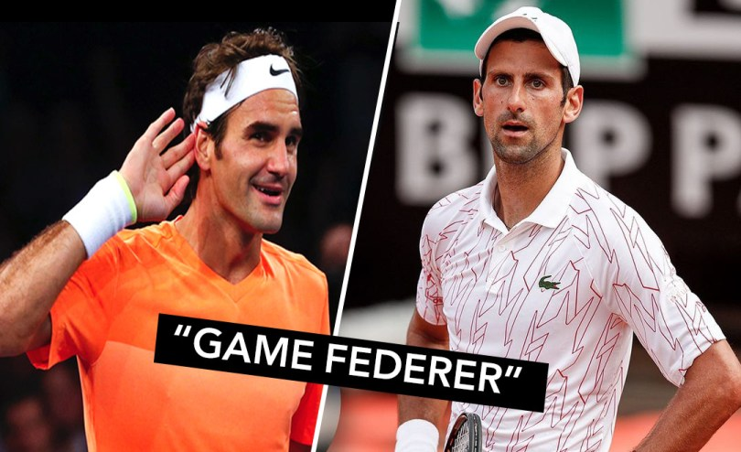 Watch: Tennis Umpire calls 'Game Federer' in Djokovic's Match