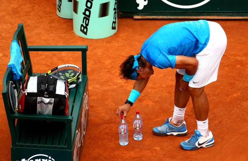 2 weird reasons why Rafael Nadal bites every Cup