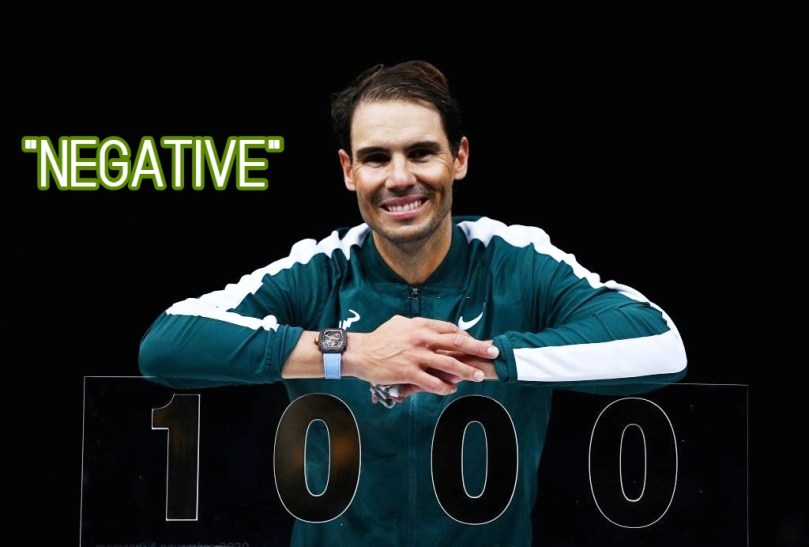 Rafael Nadal jokes about the 1000th Win of his career