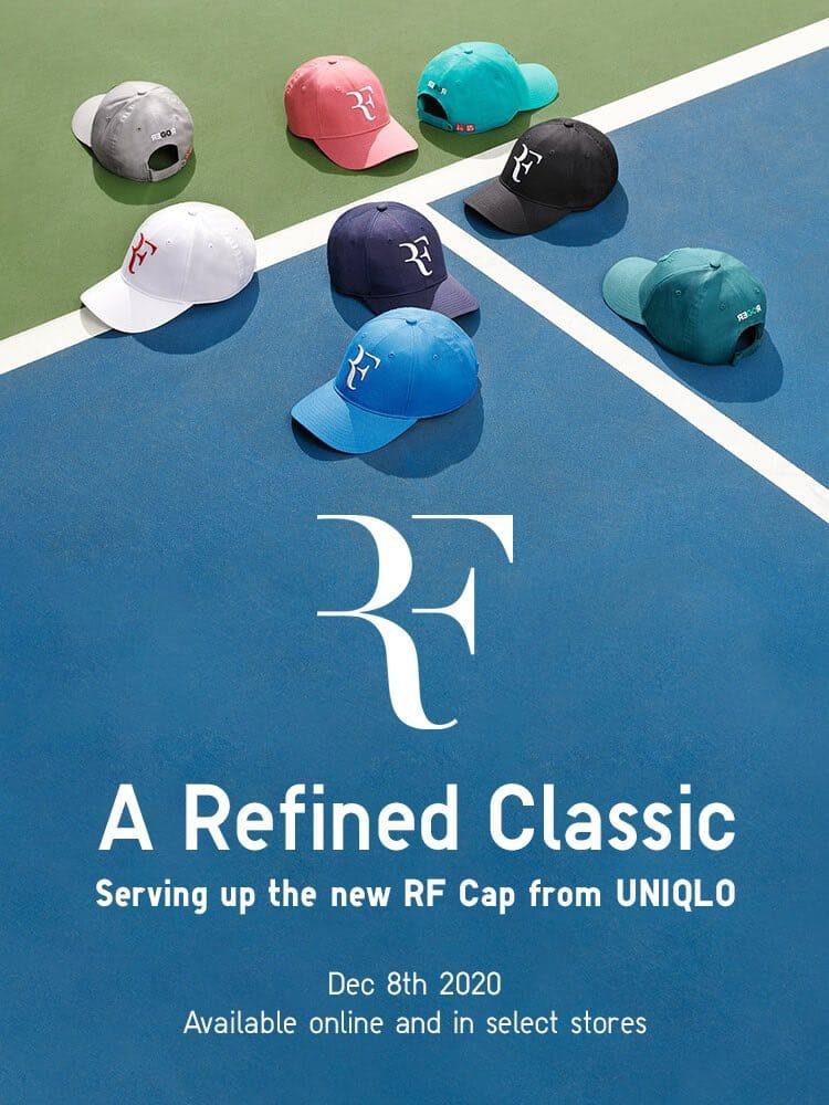 Roger Federer gets back his amazing RF Logo