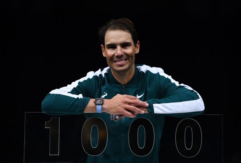 Rafael Nadal achieves a new big record in Tennis as the 3rd player to make it