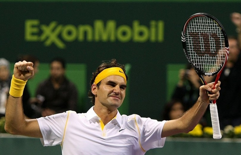 Roger Federer great return will be in ATP Doha 2021