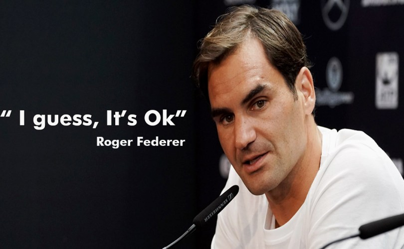 Roger Federer explained how He will feel if his records are broken