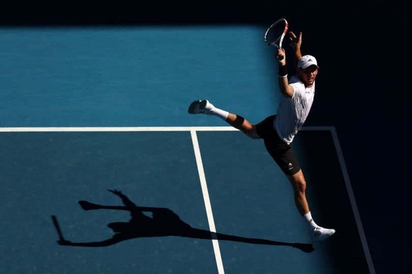 ' I'm happy for what happened Today ' Dominic Thiem says after 2R wins Dominic Thiem australian Open 2021