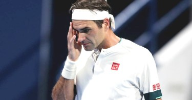 Roger Federer gives an update about the Shoulder injury after the loss
