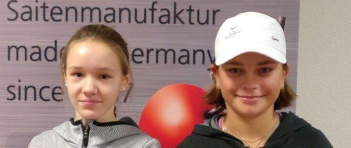 Carlotta Buß und Lambert Ruland im Endspiel erfolgreich