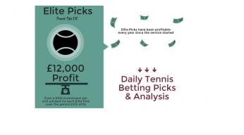 Elite Picks | Tennis Betting Picks
