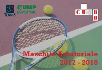 """Maschile Amatoriale"" UISP Tennis Campionato Bolognese 2017/2018"