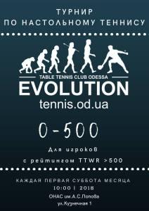 0-500 TTWR @ TTC Evolution   Одеса   Одеська область   Украина