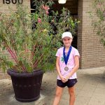Tennis.Pro Player Maryia Tryhubovich Wins Girls' 12s tournament while Lauren Chang Advances to Semifinals