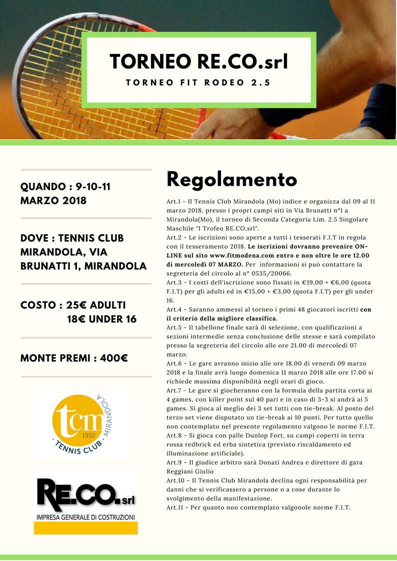 Copy of TORNEO RE.CO.srl