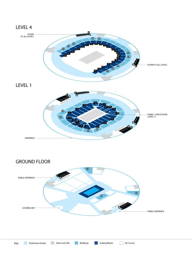 O2 Arena Seating Map Tennis