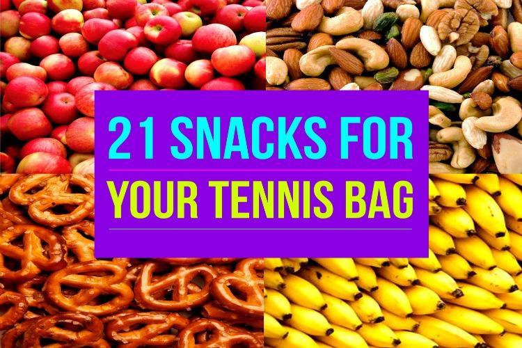 21 Snacks For Your Tennis Bag