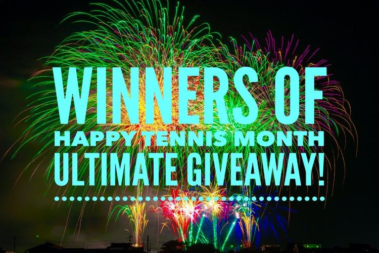 Happy Tennis Month Ultimate Giveaway Winners