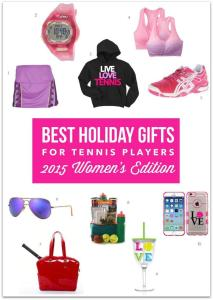 Best Holiday Gifts for Tennis Players – 2015 Women's Edition