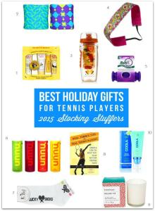 Best Holiday Gifts For Tennis Players – 2015 Stocking Stuffers