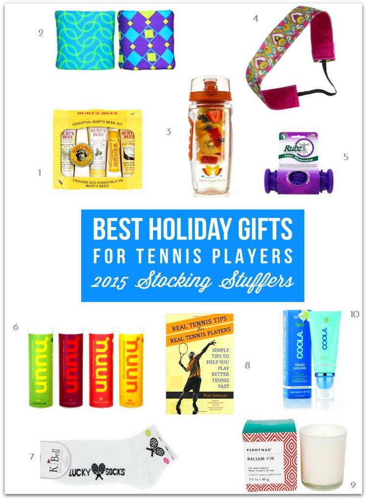 Best Gifts for Tennis Players - Stocking Stuffers