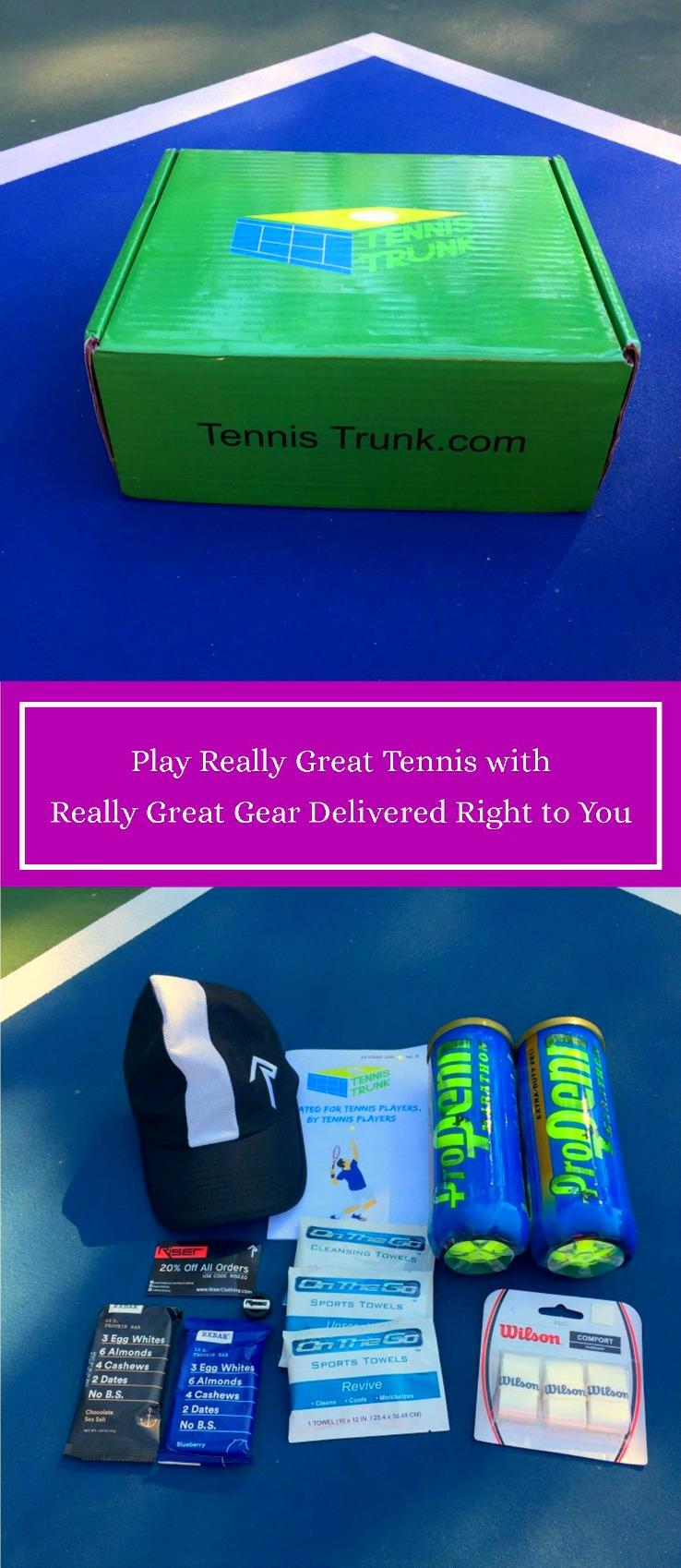 Play reall great tennis with really great gear from Tennis Trunk!