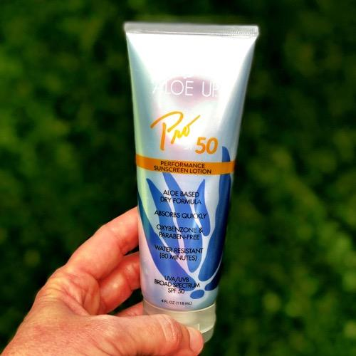 Aloe Up Sunscreen - Recommended by Tennis Fixation