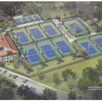 Riverside Park Tennis Court Refurbishment Plan In Vero Beach, Florida