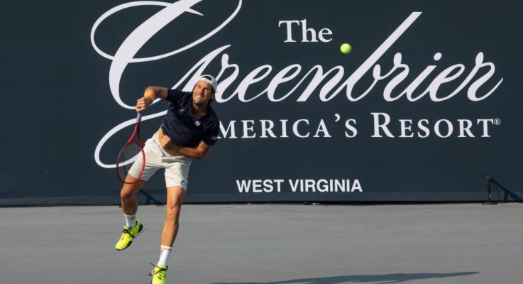 Tommy Haas Continues Champions Series Tennis Dominance At The Greenbrier