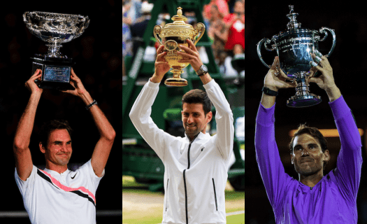 The ATP Finals records of Roger Federer, Rafa Nadal and ...